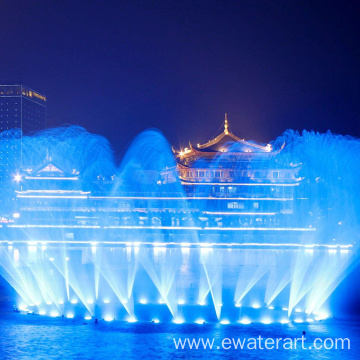Digital Water Rain Curtain Fountain